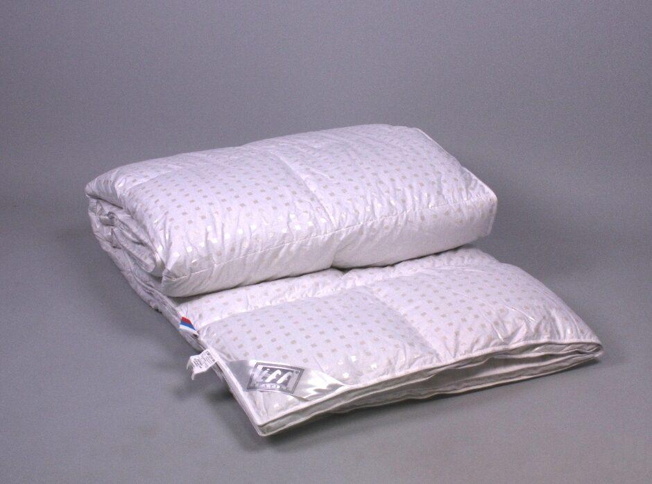Одеяло гусиный пух тик оптом от производителя